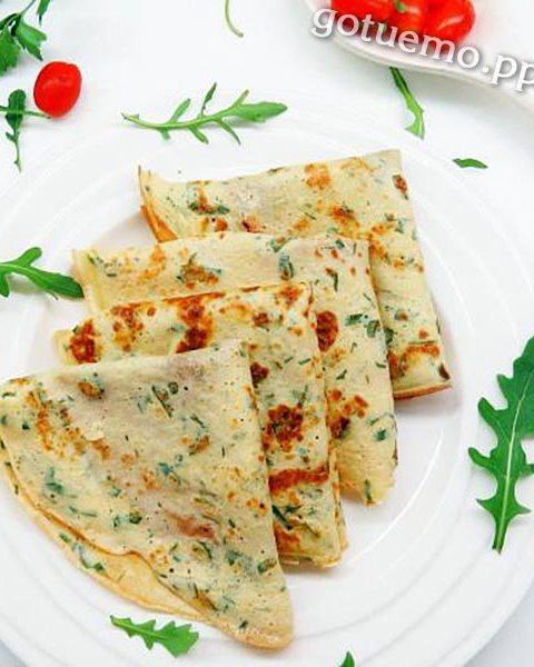 рецепт сирних млинців