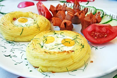 Картопляні гнізда