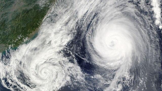台風21号たまごの米軍最新情報・日本への影響は?