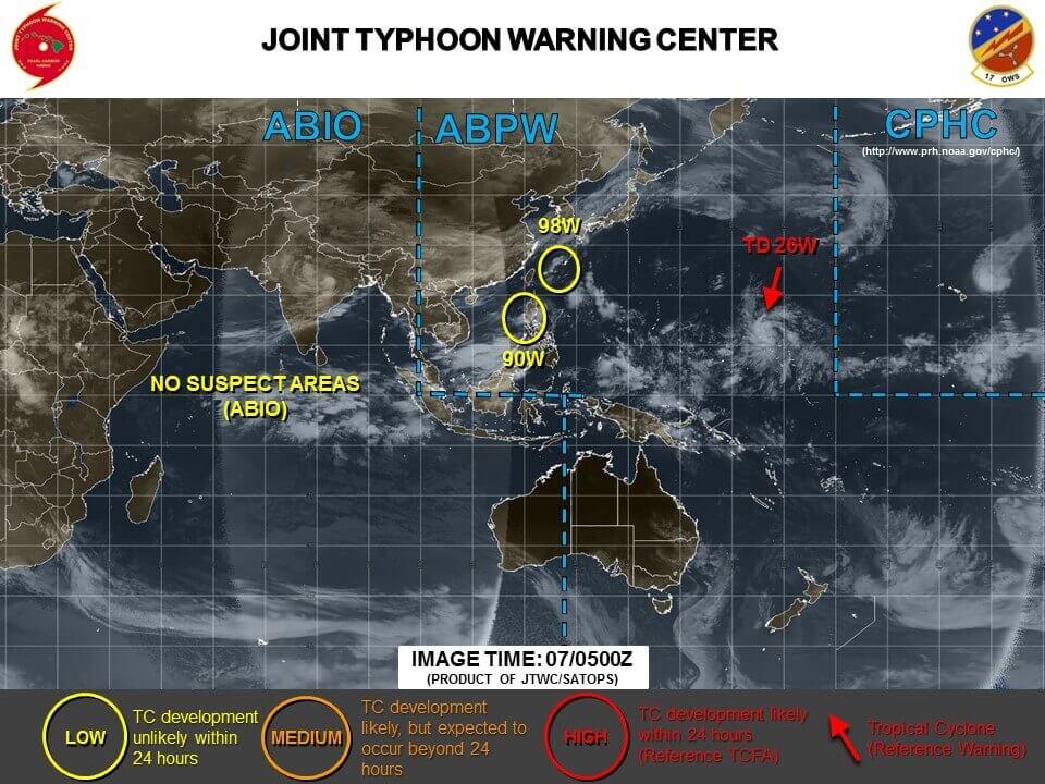 台風22号の最新進路予想!米軍やヨーロッパの情報