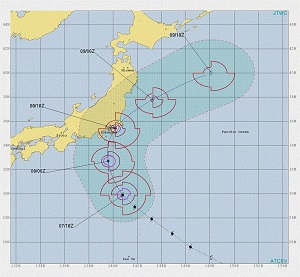 台風15号米軍アメリカの最新情報