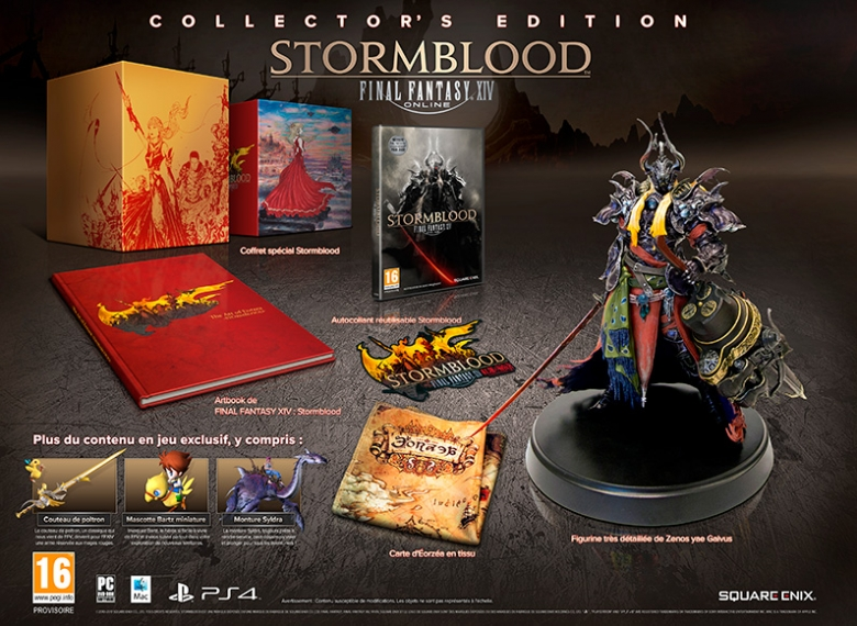 Final Fantasy XIV Stormblood - Collector's Edition