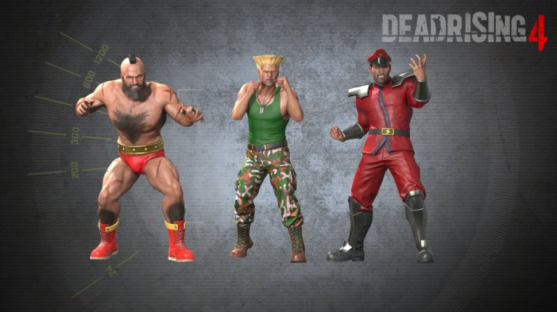 Skin Street fighter Dead Rising 4