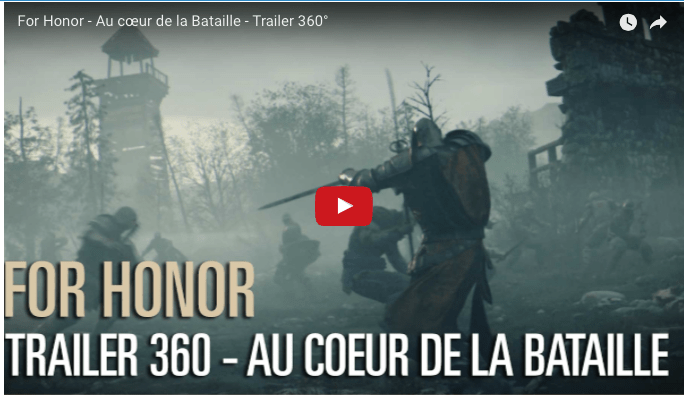 For Honor VR 360