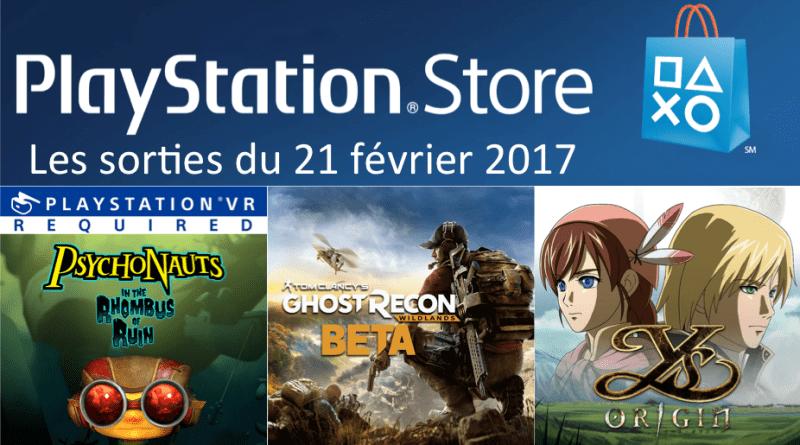 Playstation Store 21 février