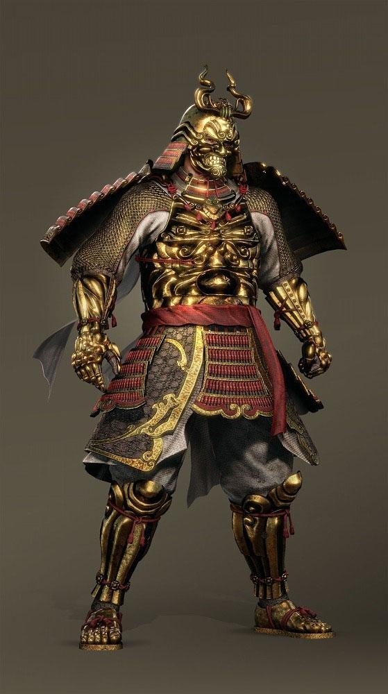 Nioh - cadeau armure en or
