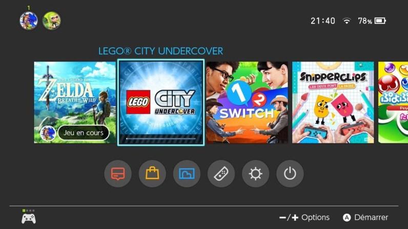LEGO City Undercover switch - gouaig
