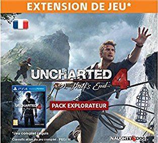 pack Explorateur uncharted