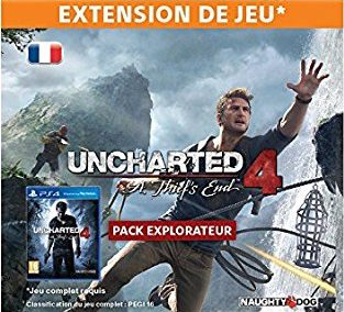 pack Explorateur uncharted