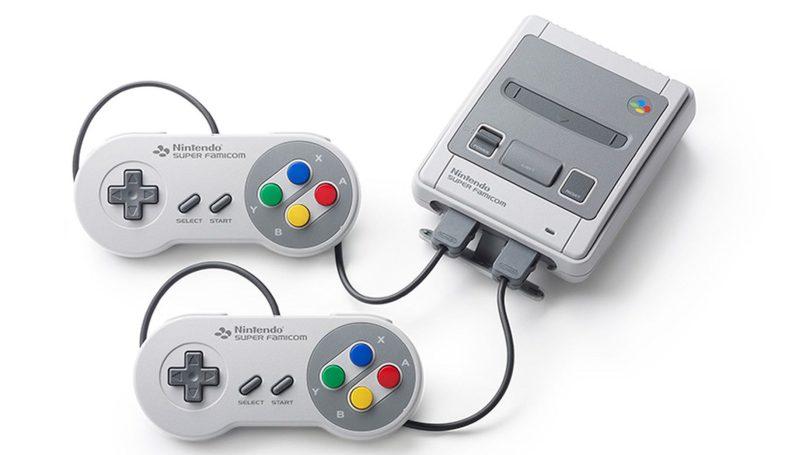 Branchement des manettes super Famicom mini