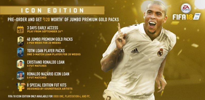 Editions FIFA 18
