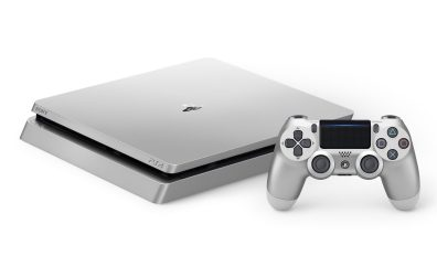 PS4 Slim Silver