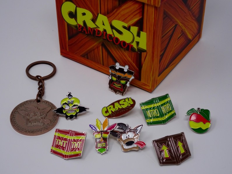 pins crash bandicoot