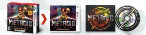 Metroid 3DS Samus Returns edition limitée US
