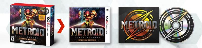 Metroid 3DS Samus Returns edition limitée US