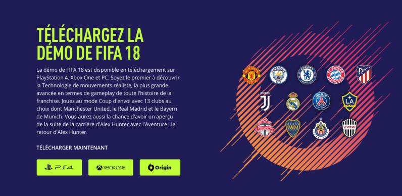 FIFA 18 Gratuit