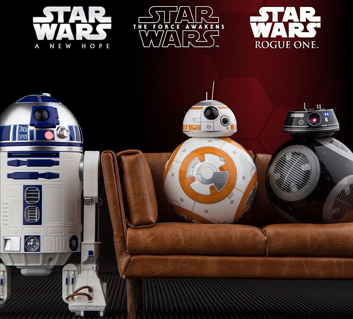 R2D2 BB9 Sphero movie