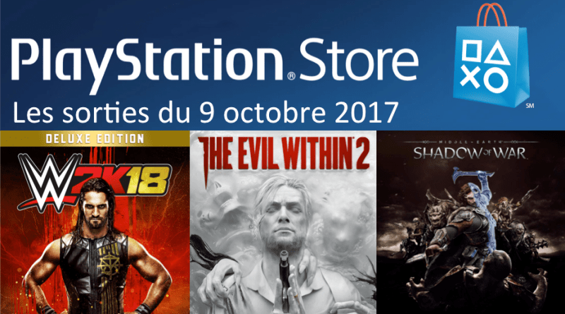Playstation Store 9 octobre