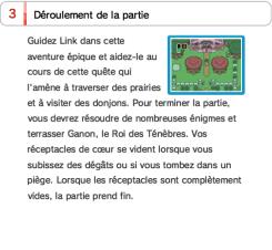 Manuels SNES mini Zelda electronique french