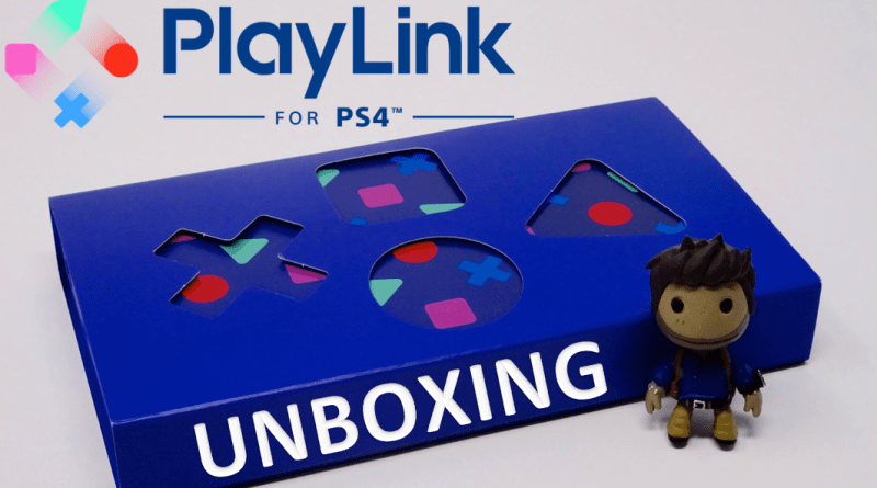 Unboxing Press Kit Playlink PS4