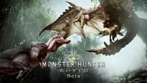 beta monster hunter world