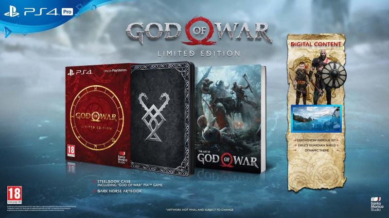 édition limitée god of war