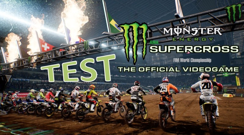 Test Monster Energy Supercross sur PS4 Gouaig