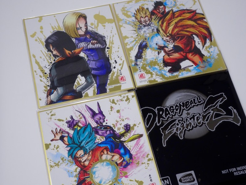 Unboxing DragonBall FighterZ Collector