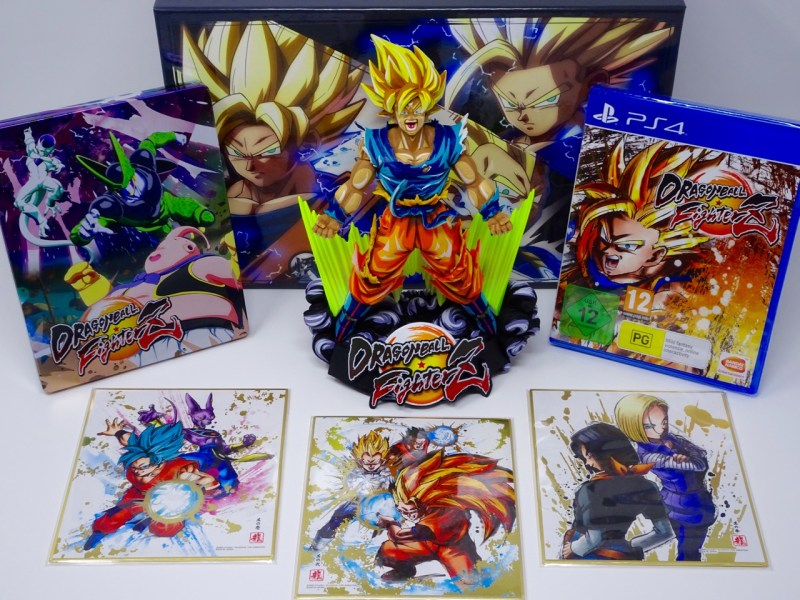 Unboxing DragonBall FighterZ
