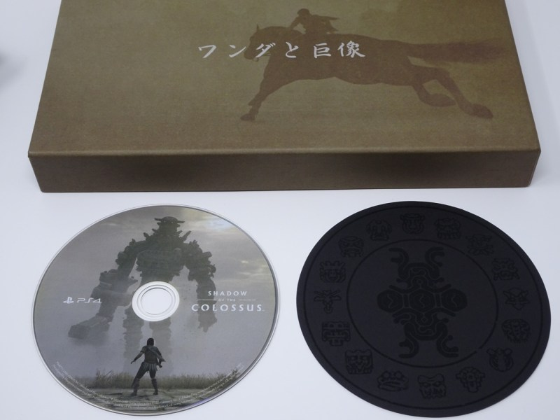 Unboxing Shadow of the Colossus