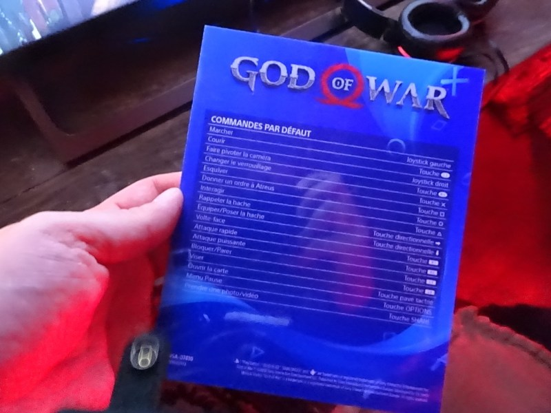 Control God Of War