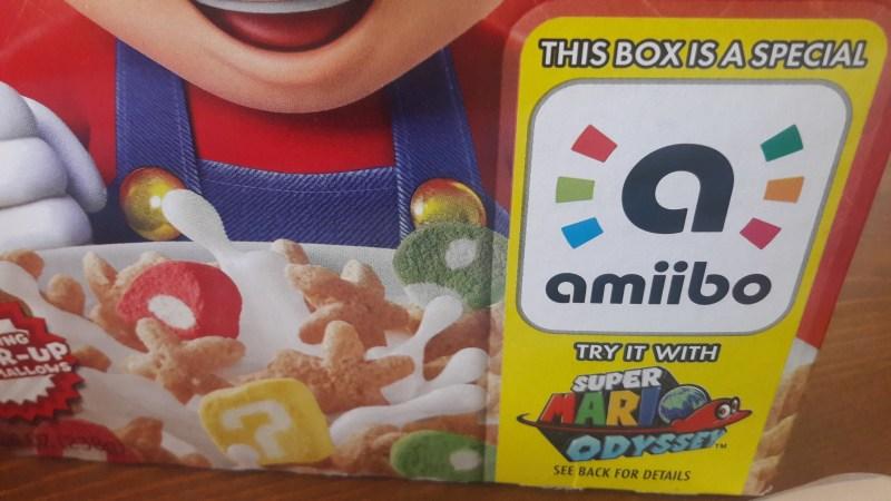 Céréales Super Mario