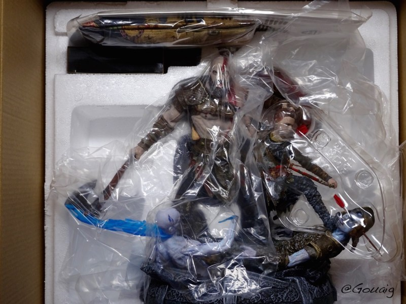 Unboxing Collector God of War