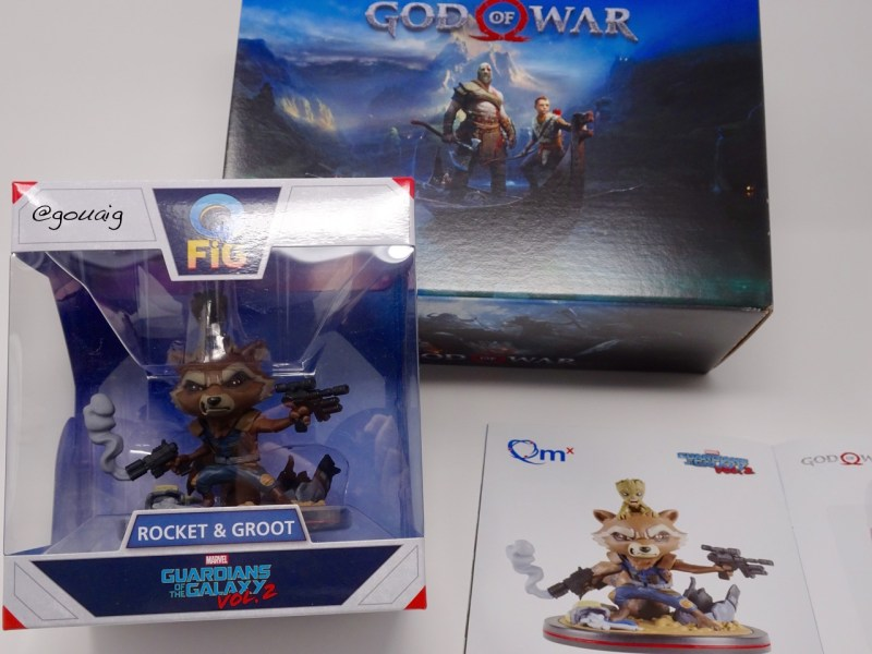 Unboxing Wootbox god of war