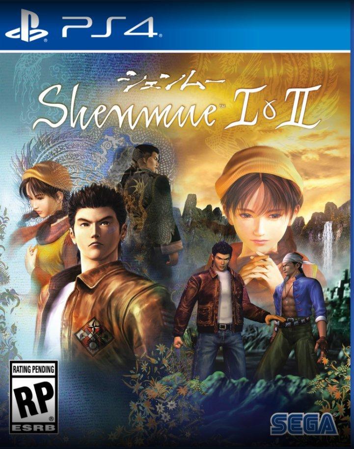boite shenmue I & II PS4