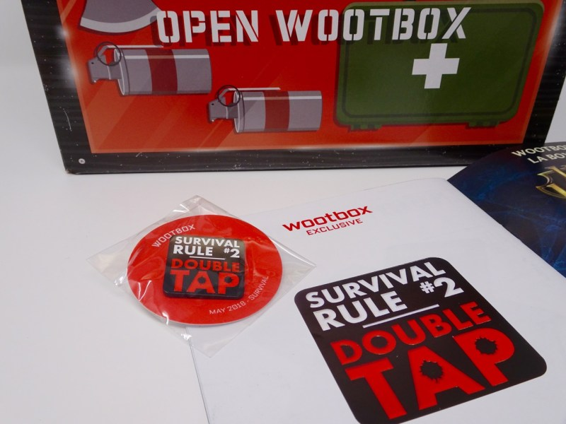 Unboxing Wootbox Mai 2018