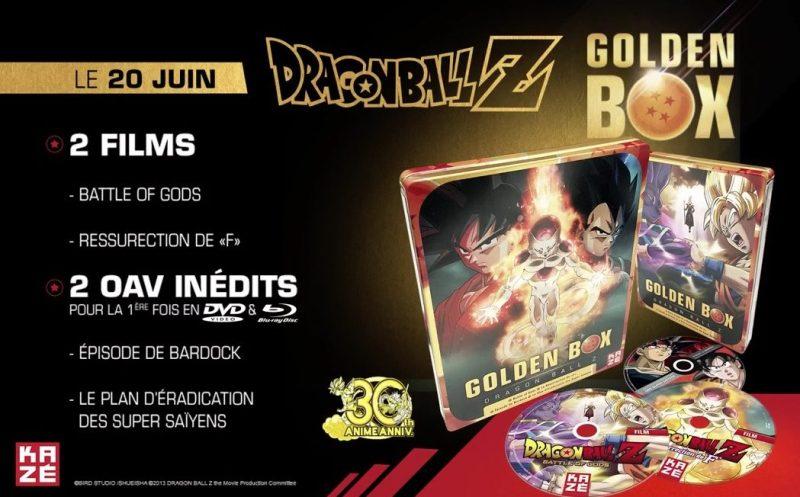 Golden Box Dragon Ball Z