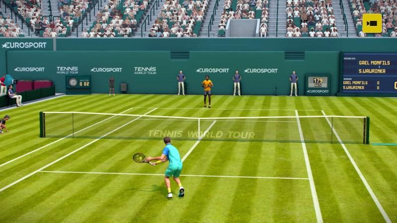 test Tennis World Tour