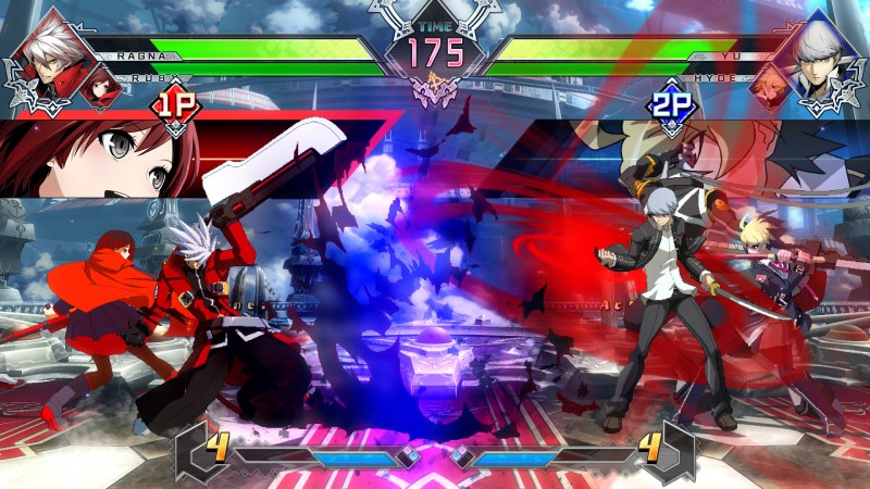 test BlazBlue Cross Tag Battle