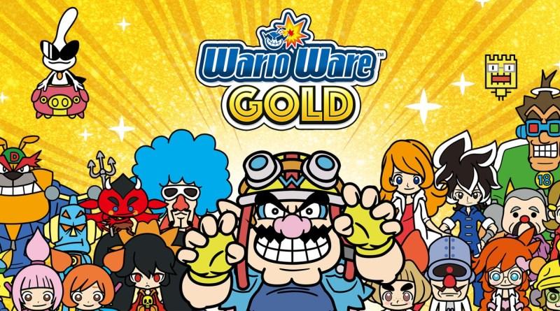 Wario Ware Gold
