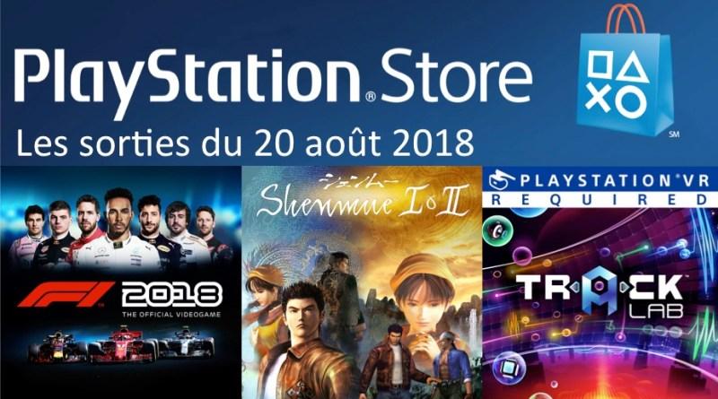 MAJ Playstation Store 20 aout