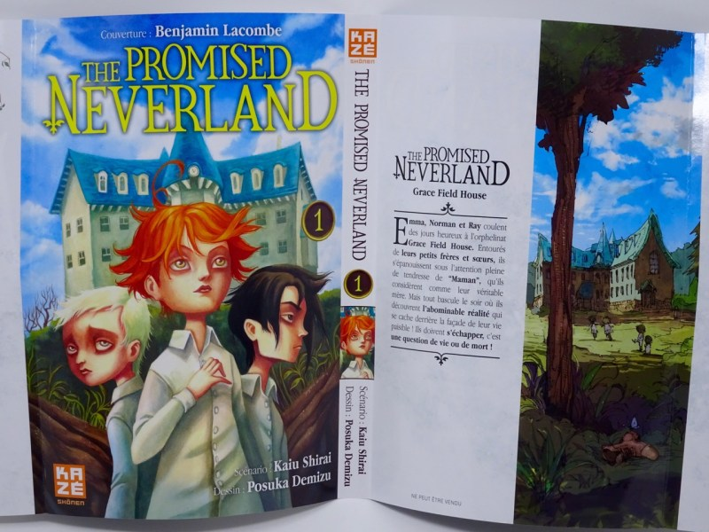 avis The Promised Neverland Tome 1