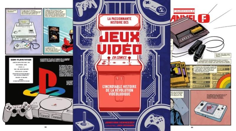 L'histoire des jeux vidéo en Comics chez Omaké Books