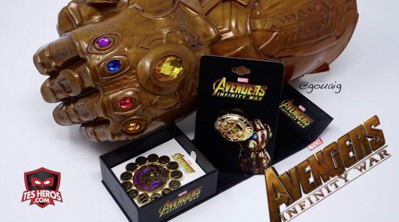 Pin's Marvel Avengers Infinity War Tesheros