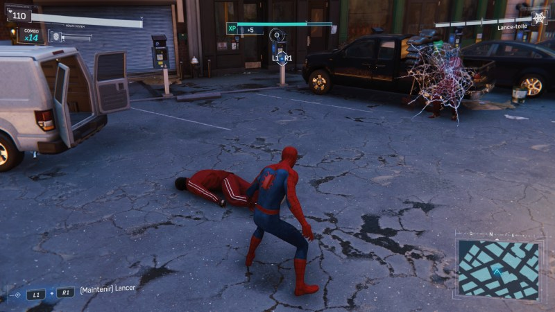 Test Marvel's Spiderman PlayStation 4 Pro