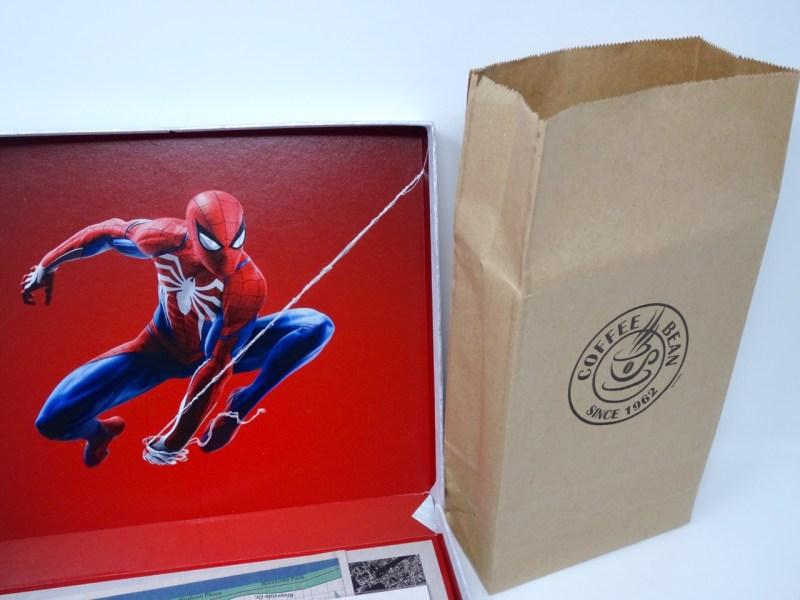 Unboxing Presskit Spiderman PS4