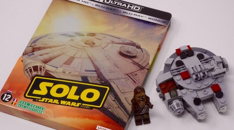 Avis Solo A Star Wars story Blu-ray 4K