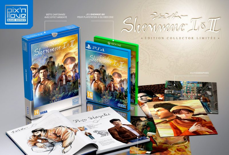 Collector Shenmue I&II PIx'n Love