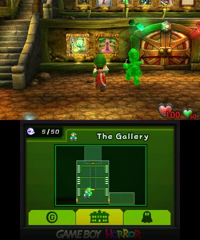 luigi s mansion 3DS double écran