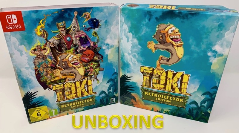 Unboxing Toki RetroCollector Edition Switch - Gouaig
